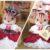 フェイクレザーを使ったミニチュアハットの作り方〜くるみリスさんのバレンタイン衣装